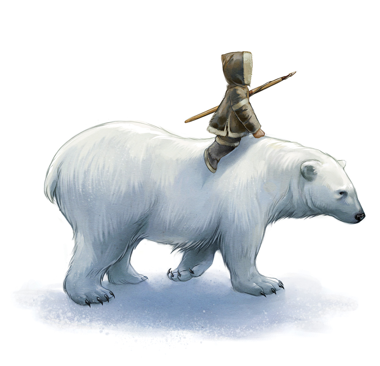Orphan and the Polar Bear